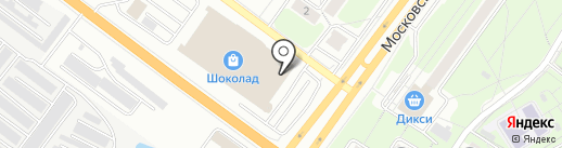 Айкрафт на карте Ярославля
