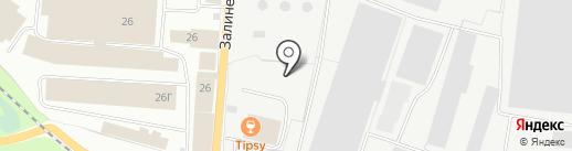 Техпромсервис на карте Вологды