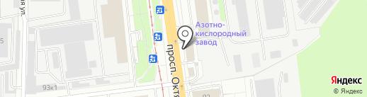 Мастер-Памятники на карте Ярославля