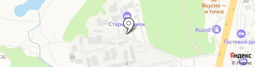 Росавтокрепеж на карте Аксая