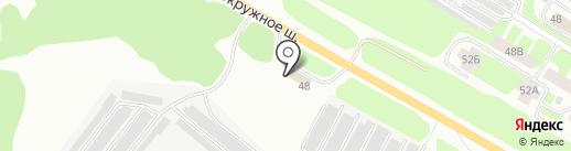 Центр по уходу за автомобилями на карте Вологды