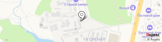 Иванко-Ростов на карте Аксая