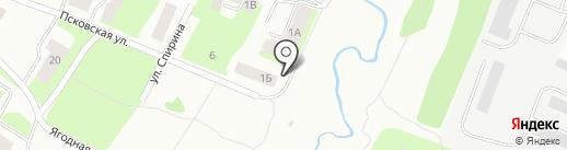 Вологдаагрострой на карте Вологды