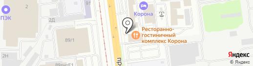 Константа на карте Ярославля