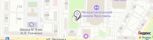 ЗА РОЖДЕНИЕ на карте Ярославля