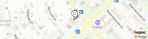 БизнесСофт-Вологда на карте Вологды
