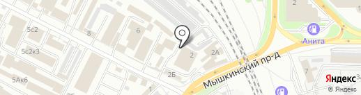 Фацет на карте Ярославля