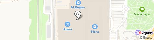 Суши-маркет на карте Аксая