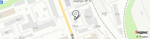 СК-Стандарт на карте Северодвинска