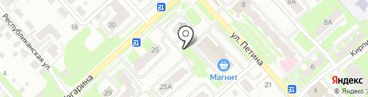 Финансово-правовая группа на карте Вологды