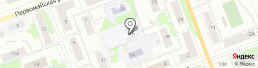 Телекорт Поморский на карте Северодвинска
