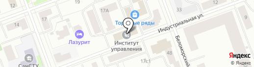 Институт управления на карте Северодвинска
