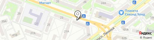 АВТОМАРКА на карте Ярославля