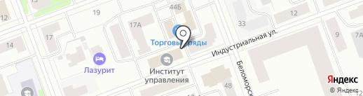 Мои документы на карте Северодвинска