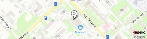 МАРАТ КА на карте Вологды