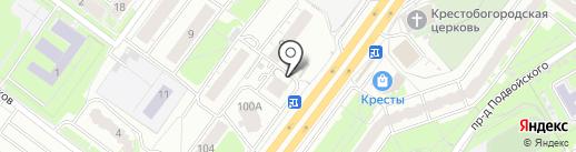 Цирюльня на карте Ярославля