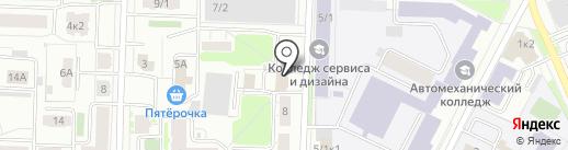 Прогресс на карте Ярославля