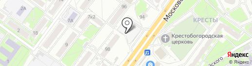 Киоск по продаже кондитерских изделий на карте Ярославля