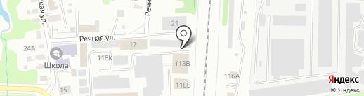 Фотоцех на карте Ярославля