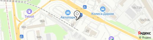 ЯрЛоган на карте Ярославля