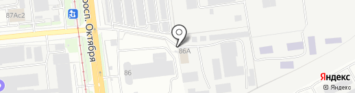 ЕВРОТОН на карте Ярославля
