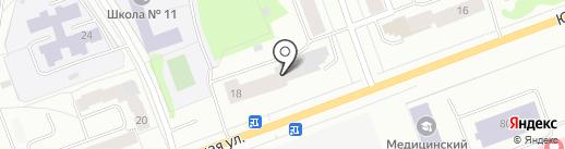 Почтовое отделение №21 на карте Северодвинска