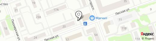 Мастерская по ремонту обуви и изготовлению ключей на карте Северодвинска