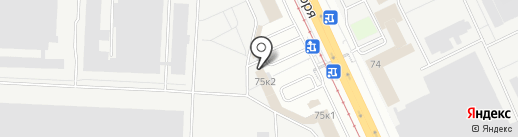 СК Приоритет на карте Ярославля
