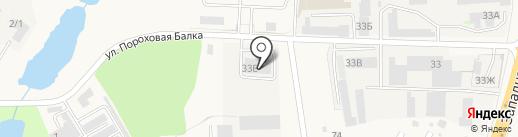 Скиф-Авто на карте Аксая