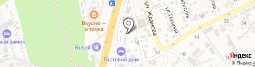 РеноТрак на карте Аксая