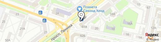 Локотэк на карте Ярославля