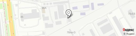 УАЗ на карте Ярославля