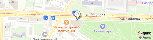 Ярбург-Строй на карте Ярославля