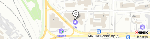 Завод деревоизделий на карте Ярославля