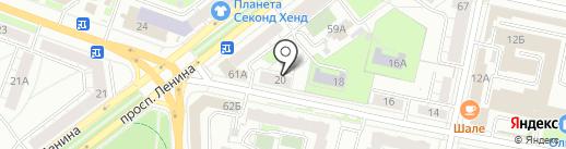 ЮЛСАН на карте Ярославля