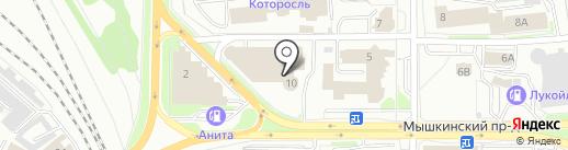 Incar на карте Ярославля
