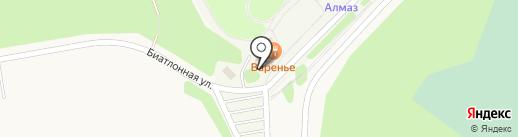 Алмаз-парк на карте Варских