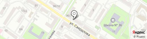 Адвокат Чирков П.А. на карте Ярославля