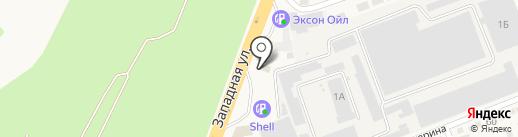 Subway на карте Аксая