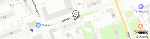 Мих мих на карте Северодвинска
