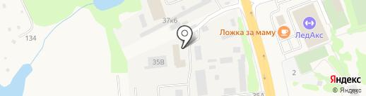 Голди на карте Аксая