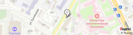 Департамент ветеринарии Ярославской области на карте Ярославля