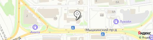 Арт-металл на карте Ярославля
