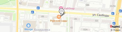 Дым-Дым на карте Ярославля