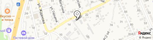 Единая диспетчерская дежурная служба Аксайского района на карте Аксая