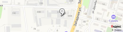 ЮСТ на карте Аксая