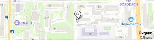 Мастер шин на карте Ярославля