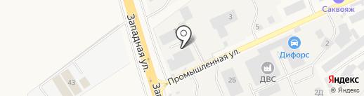 Спецсервис на карте Аксая