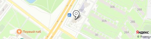 ЯрФинА на карте Ярославля
