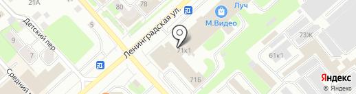 Дорофей на карте Вологды